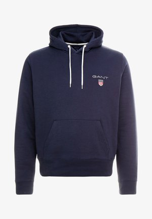 MEDIUM SHIELD HOODIE - Hoodie - evening blue