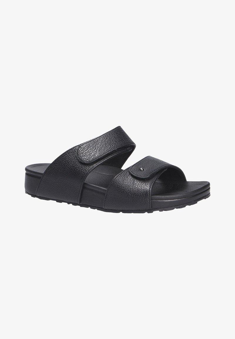 Joya - VIENNA BLACK - Slippers - schwarz