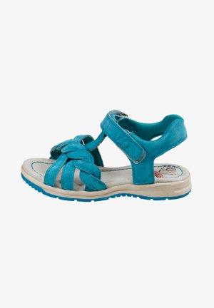 Walking sandals - turquoise