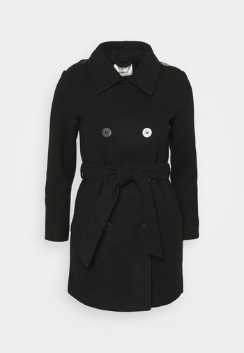 ONLSANSA COAT - Abrigo clásico - black