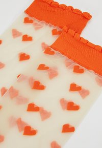Becksöndergaard - DAGMAR HEARTS SOCK 2 PACK - Socken - orange - 2