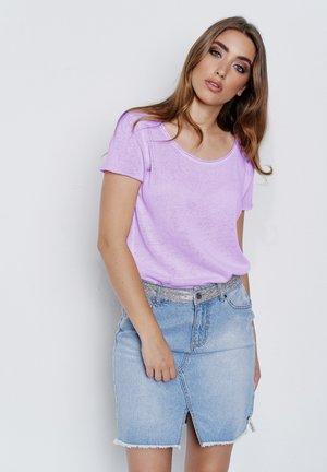 ARABELLA - Basic T-shirt - purplish