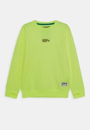 Sweater - neon yellow