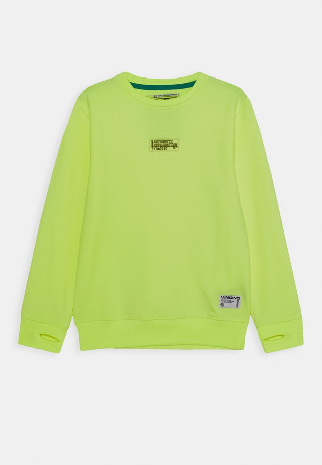 Sweatshirt - neon yellow