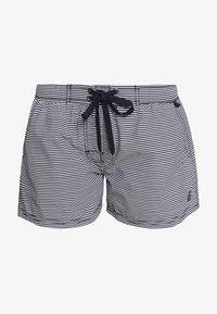 Marc O'Polo - BEACH SHORTS - Bikini bottoms - blau/schwarz - 4