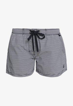 BEACH SHORTS - Spodní díl bikin - blau/schwarz