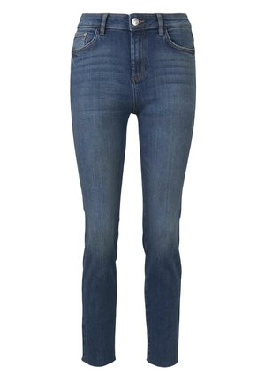 TOM TAILOR KATE SLIM - Slim fit jeans - mid stone wash denim