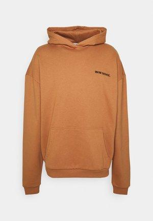 LOGO HOODIE UNISEX - Sweatshirt - ochre