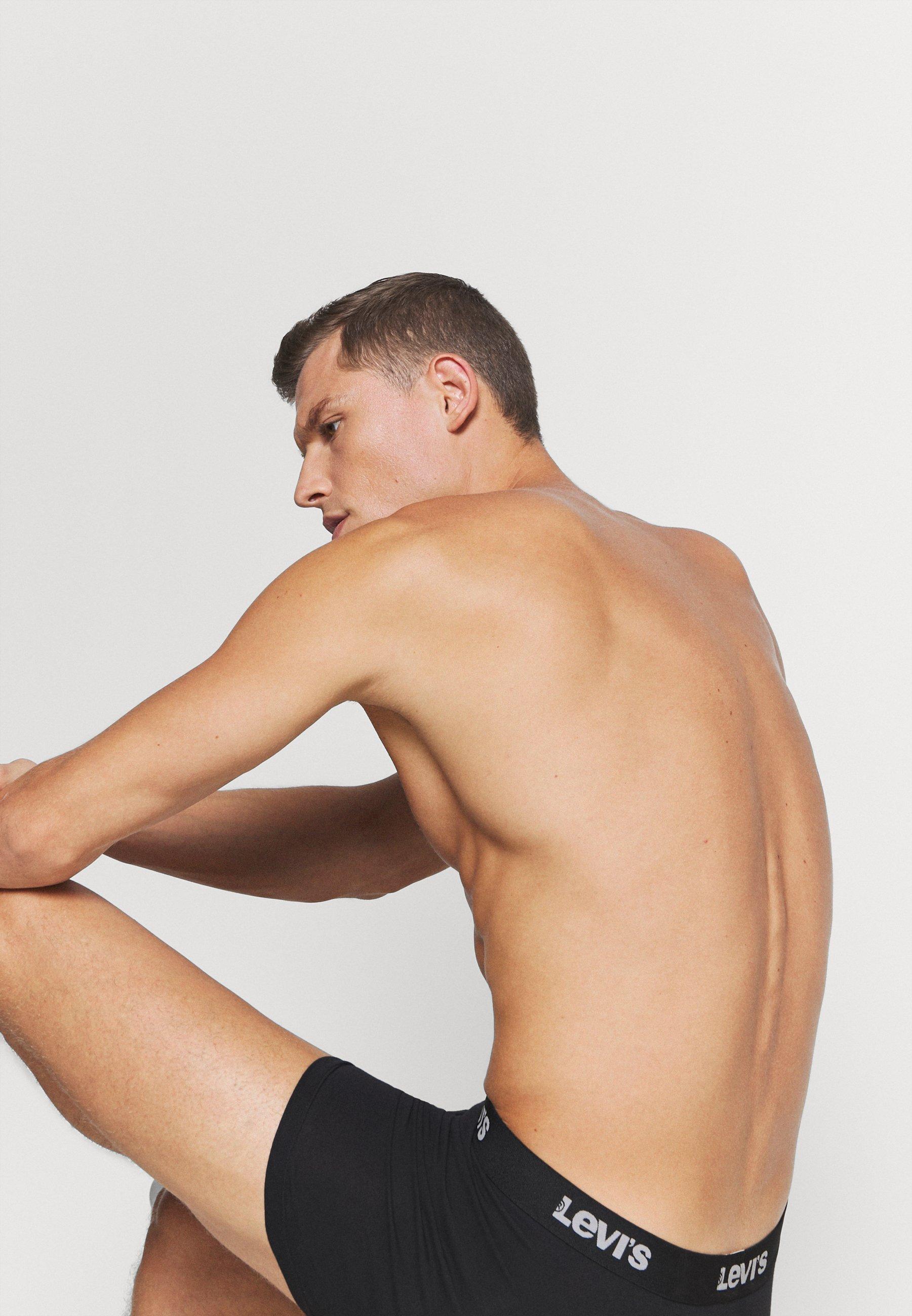 Levi's® Men Back In Session Boxer Brief 3 Pack - Underbukse Black/svart