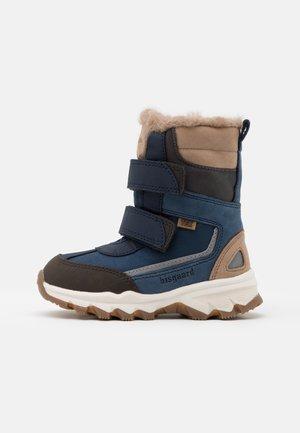 EDDIE - Zimní obuv - blue