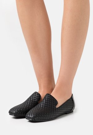 EMERSYN - Nazouvací boty - black