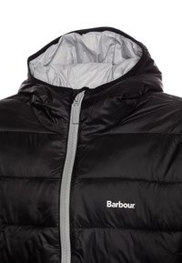 Barbour - BOYS TRAWL QUILT - Lehká bunda - black - 4
