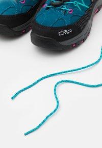CMP - KIDS RIGEL LOW TREKKING SHOES WP - Hiking shoes - deep lake/baltic - 5