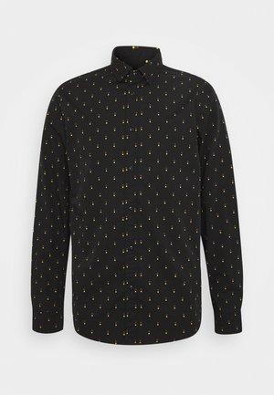 REGULAR FIT - Skjorta - black