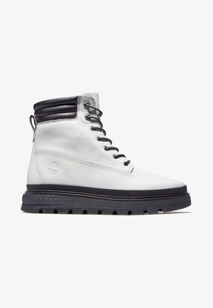RAY CITY  - Platform ankle boots - white