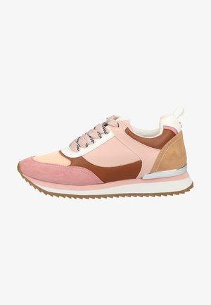 Sneakers laag - old pink micro tan