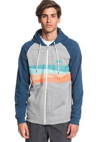Quiksilver - EVERYDAY - Zip-up hoodie - light grey heather - 0