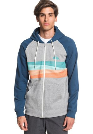 EVERYDAY - Zip-up sweatshirt - light grey heather