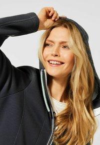 Cecil - Zip-up hoodie - grau - 1