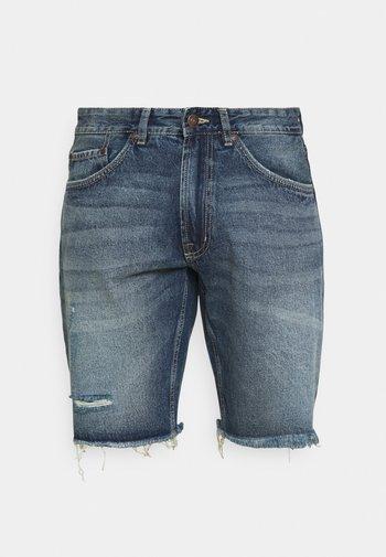 RROSAKA - Denim shorts - blue denim