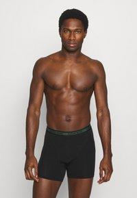 Björn Borg - NEON SOLID SAMMY 3 PACK - Underkläder - black beauty - 2