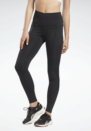 PAUL POGBA HIGH RISE WORKOUT READY SPEEDWICK REECYCLED LEGGINGS - Trikoot - black