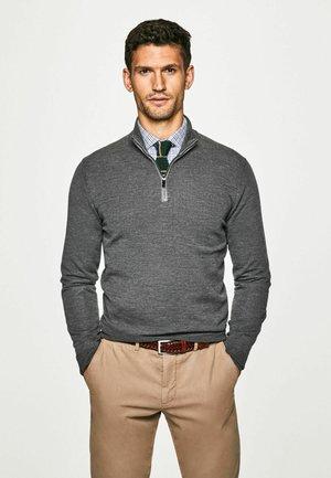 MERINO - Sweatshirt - grey
