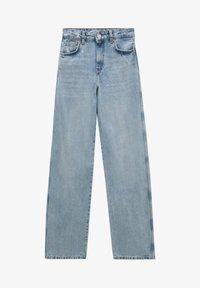 PULL&BEAR - Straight leg jeans - light blue - 6