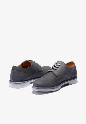 OXFORD - Sznurowane obuwie sportowe - dark grey nubuck