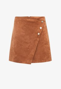 Cache Cache - ASYMMETRISCHER  - A-line skirt - marron clair - 4