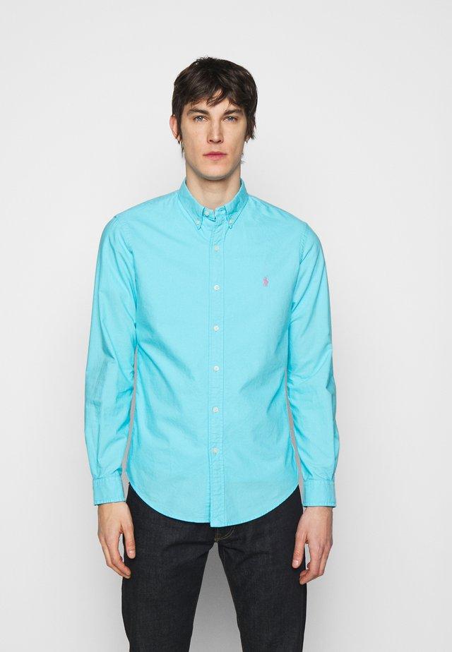 LONG SLEEVE SPORT - Košile - french turquoise