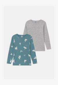 Petit Bateau - 2 PACK - Long sleeved top - multi-coloured - 0