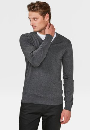 Jumper - blended dark grey