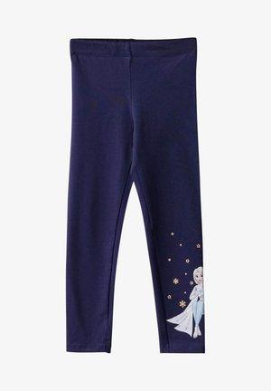 FROZEN  - Leggings - Trousers - navy