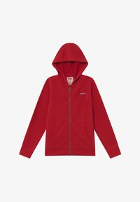 Levi's® - ZIP UP HOODIE - Felpa aperta - red - 2