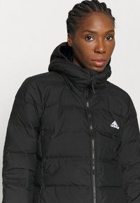 adidas Performance - FOUNDATION PRIMEGREEN JACKET - Down coat - black - 4