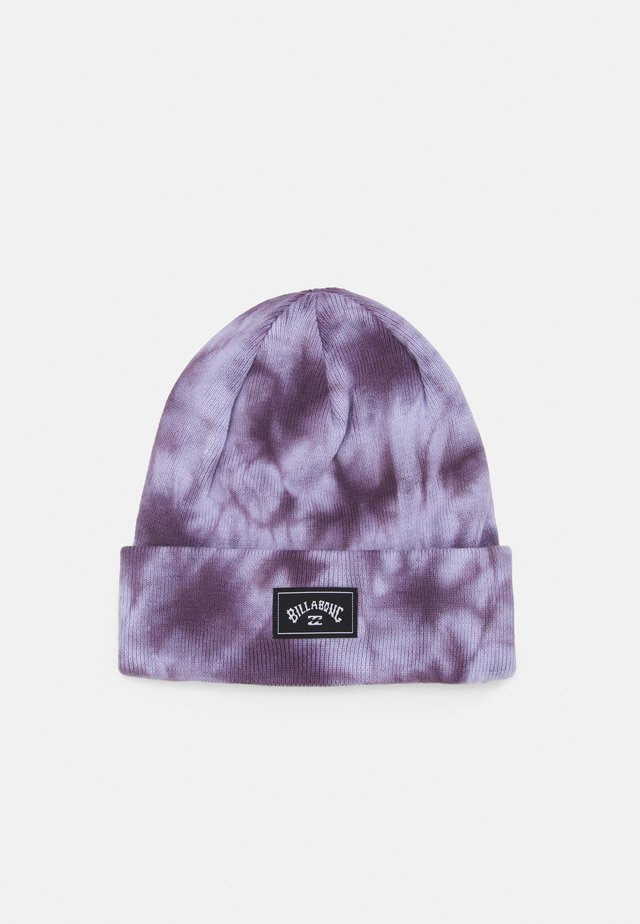 DYED UNISEX - Bonnet - purple haze