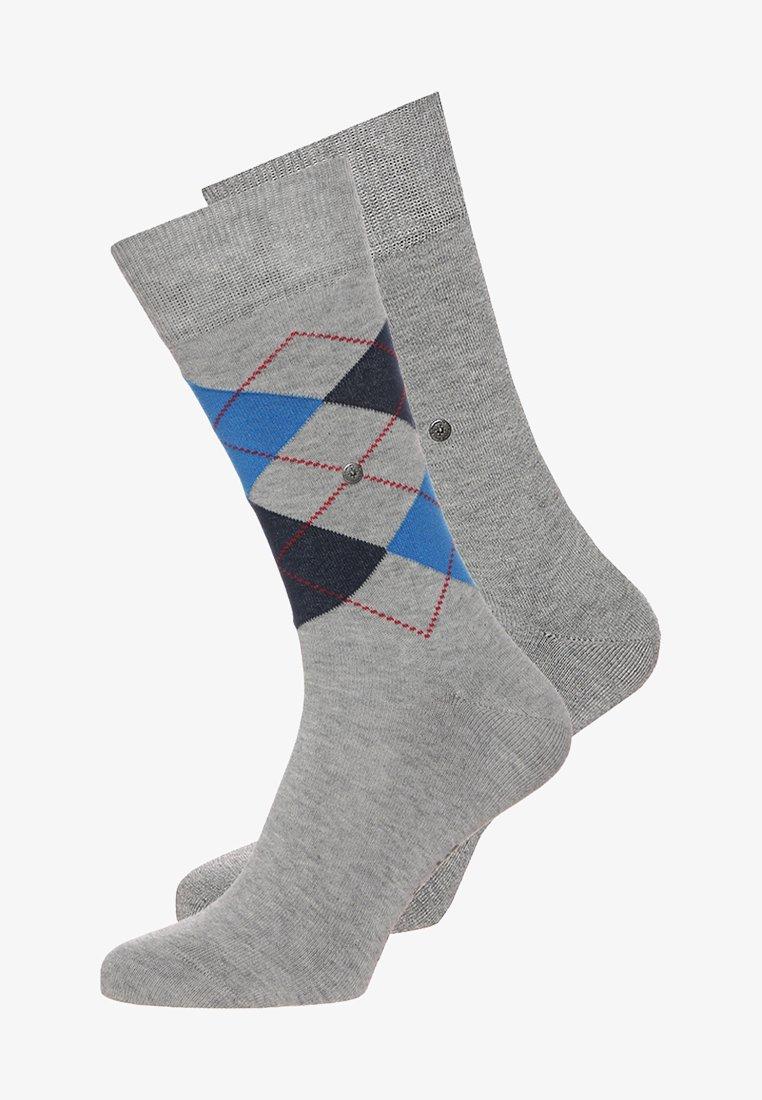 Burlington - 2 PACK - Ponožky - light grey