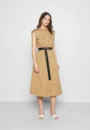 TRINA DRESS - Shirt dress - beige