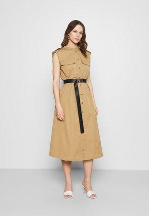 TRINA DRESS - Paitamekko - beige