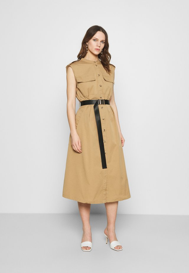 TRINA DRESS - Blousejurk - beige