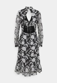 Love Copenhagen - LCKRISTA DRESS - Day dress - black / white - 1