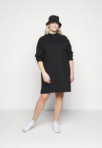 Even&Odd Curvy - Denní šaty - black - 1