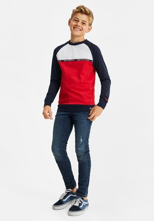 2-PACK - Long sleeved top - red