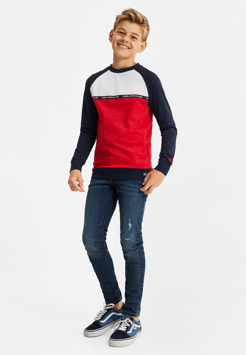WE Fashion - 2-PACK - Long sleeved top - red