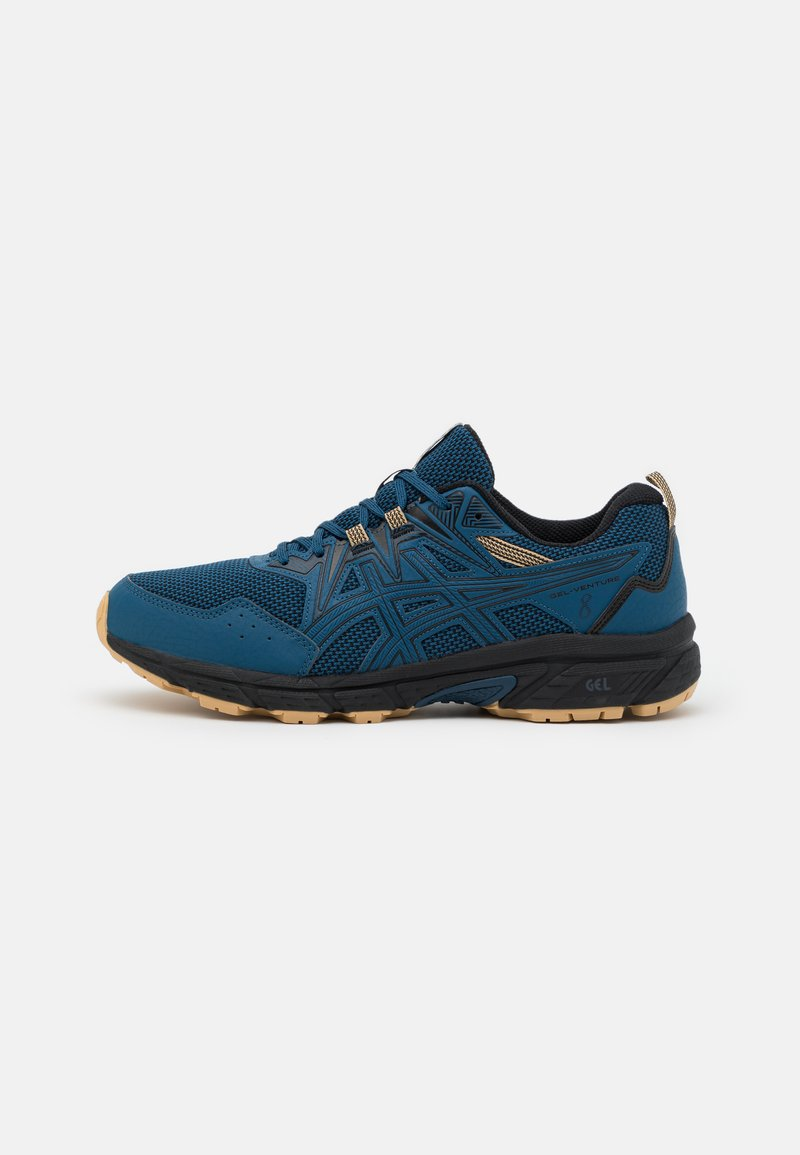 ASICS - GEL VENTURE 8 - Zapatillas de trail running - mako blue/black