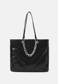 YBORELLE - Bolso shopping - black/silver-coloured