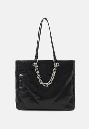 YBORELLE - Torba na zakupy - black/silver-coloured
