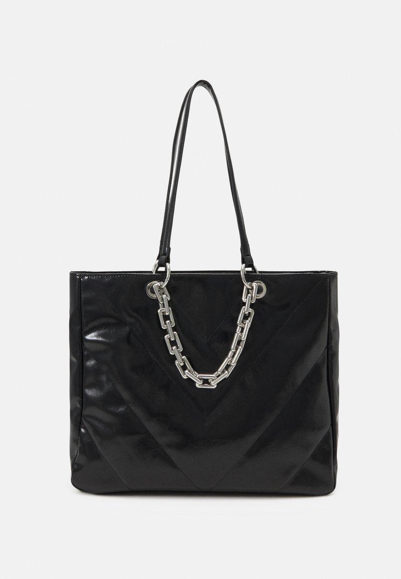 ALDO - YBORELLE - Tote bag - black/silver-coloured