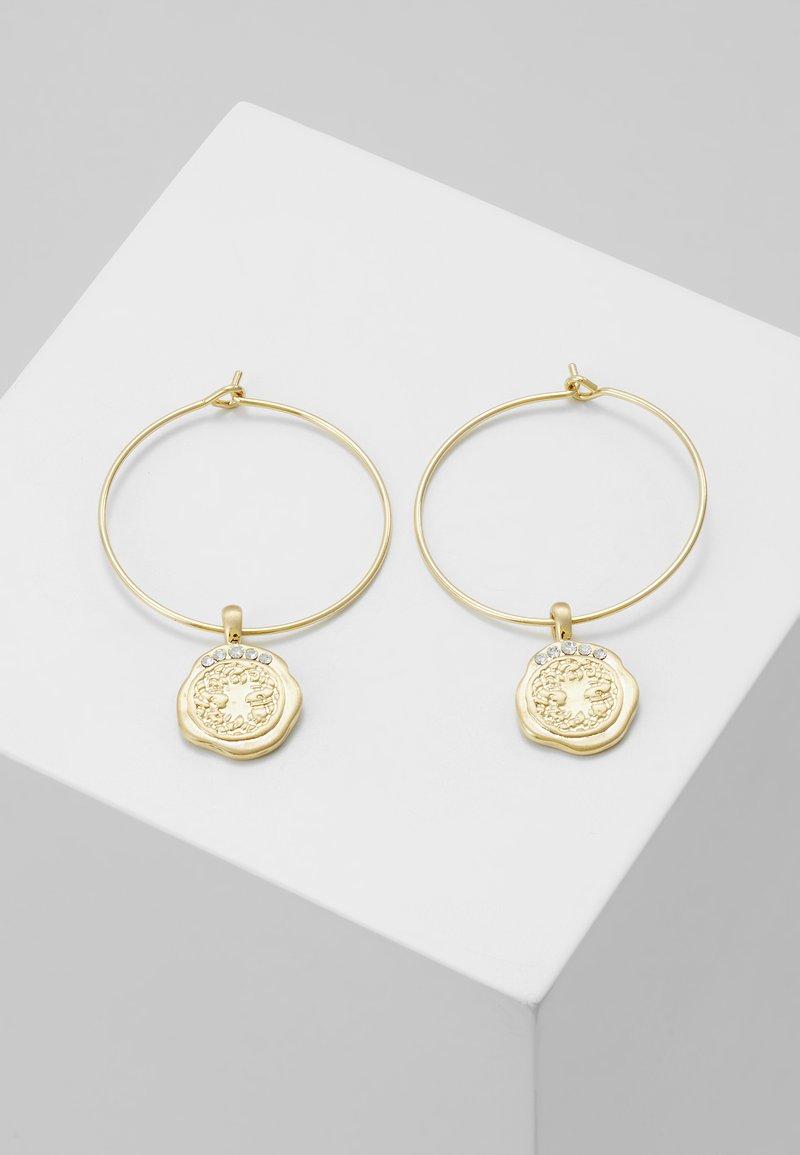 Pilgrim - EARRINGS VERDANDI - Náušnice - gold-coloured